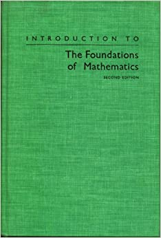 introduction to the foundations of mathematics. Black Bedroom Furniture Sets. Home Design Ideas