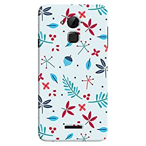 ColourCrust Coolpad Note 3 Lite Mobile Phone Back Cover With Floral Pattern - Durable Matte Finish Hard Plastic Slim Case