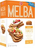 Old London  All Natural Melba Wheat Toast, 5.0-Ounce Boxes (Pack of 12)