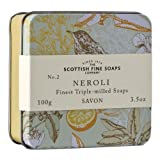 Scottish Fine Soaps Vintage Neroli Soap Tin 100g