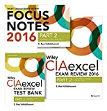 img - for Wiley CIAexcel Exam Review + Test Bank + Focus Notes 2016: Part 2, Internal Audit Practice Set (Wiley CIA Exam Review Series) book / textbook / text book