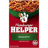 Betty Crocker Hamburger Helper Spaghetti, 6.6-Ounce Boxes (Pack of 12) ~ Betty Crocker Dry Meals