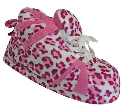 aef845ba70db0a Snooki s Pink Leopard Print - Slippers