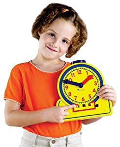Learning Resources The Primary Time Teacher Junior 12-Hour Learning Clock