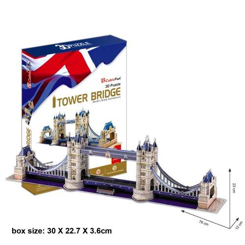 Tower Bridge 3D design puzzle