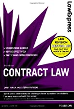 Law Express Contract Law by Emily Finch