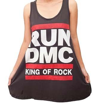 CMT243 RUN DMC King of Rock HIP HOP Party ART Women T ...