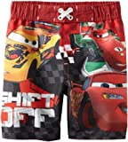 Disney Boys 2-7 Cars Swim Trunk