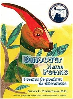 Dinosaur Name Poems/Poemas De Nombres De Dinosaurios (English and