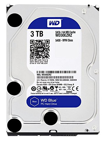 WD Blue (WD30EZRZ) 3TB Internal Hard Drive