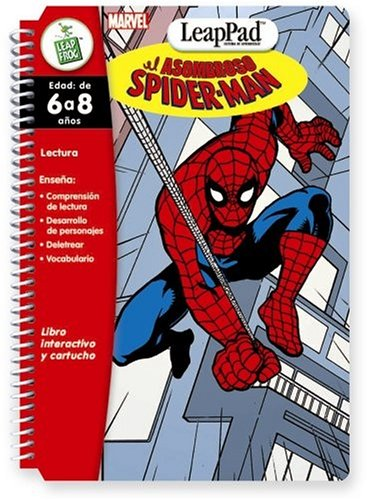 LeapFrog LeapPad® Book: El asombroso Spider-Man (The Amazing Spider-Man) Spanish Software - Buy LeapFrog LeapPad® Book: El asombroso Spider-Man (The Amazing Spider-Man) Spanish Software - Purchase LeapFrog LeapPad® Book: El asombroso Spider-Man (The Amazing Spider-Man) Spanish Software (Leap Frog Llc, Toys & Games,Categories,Electronics for Kids,Learning & Education,Cartridges & Books)