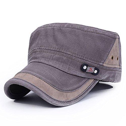 Thenice Cappello Militare Army Cappellino Berretto Esercito UNISEX (Celadon)