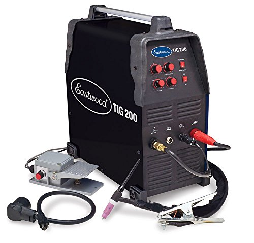NEW Eastwood Pro 200 AMP Tig Weld Welder - Square Wave Inverter 110/220V AC/DC