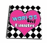 Janna Salak Designs Worlds Best Worlds Best Daughter Memory Book 12 X 12 Inch (Db 10848 2)
