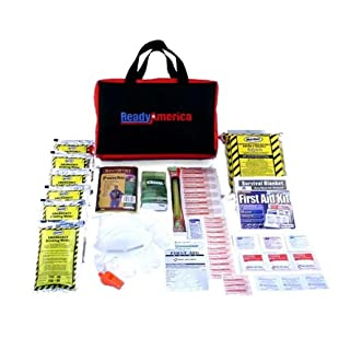 Quakehold! Grab-n-Go Emergency Kit, 1-Person 3-Day Bag