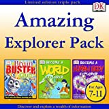 Amazing Explorer Pack (Brain Buster Quiz, Become a World Explorer, Become a Human Body Explorer)
