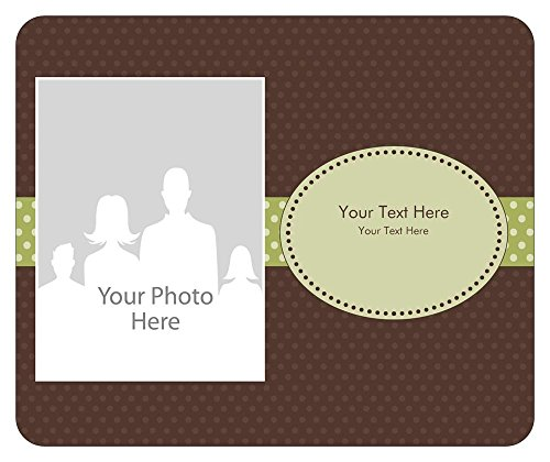 Vistaprint Brown Baby Announcement Mouse Pads front-1056208