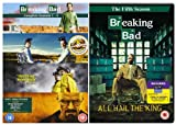 Breaking Bad Complete AMC TV Series [18 Disc]DVD Box Set Collection: Season 1, Season 2, Season 3, Season 4 and Season 5 + Cast and Crew Commentaries and Interviews, Deleted Scenes, Featurettes, 6 Original Webisodes