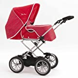 Silver Cross Sleepover Pram in Poppy Domino