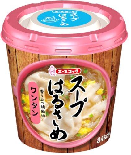 エースコック スープはるさめ ワンタン 23g×6個