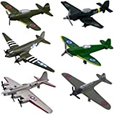 InAir WWII Planes 6 Piece Set - Assortment 2 ~ InAir
