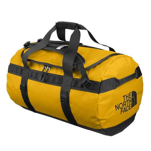 Image of The North Face ASTDZU3 Base Camp Duffel Medium Summit Gold Black