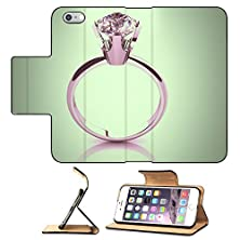 buy Luxlady Premium Apple Iphone 6 Plus Iphone 6S Plus Flip Pu Leather Wallet Case Gold Wedding Ring On Background Vintage Style Image 34731543