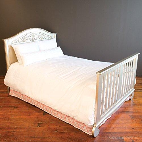 Bratt Decor chelsea lifetime crib antique silver 3