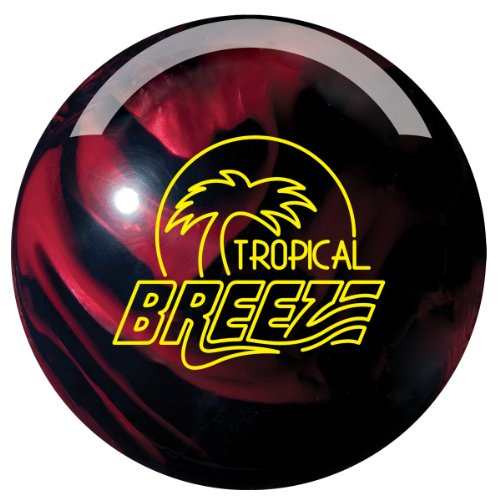 Storm Tropical Breeze Bowling Ball, 13-Pound, Black/Cherry (Storm Breeze Bowling Ball compare prices)