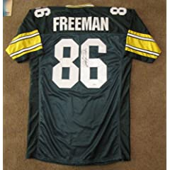 Antonio Freeman Signed Jersey - Green Bay Packers by Leader In Sports