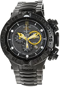 Invicta Men's 14412 JT Quartz Chronograph Black Dial Watch