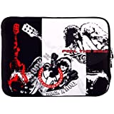 14 Inch Rock N Roll Guitar Player Notebook Laptop Sleeve Bag Carrying Case For Most Of Macbook Acer ASUS Dell...