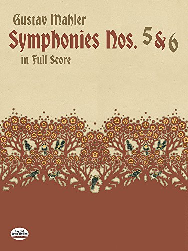 Symphonies Nos. 5 and 6 in Full Score (Dover Music Scores) (Mahler Symphonies Scores compare prices)