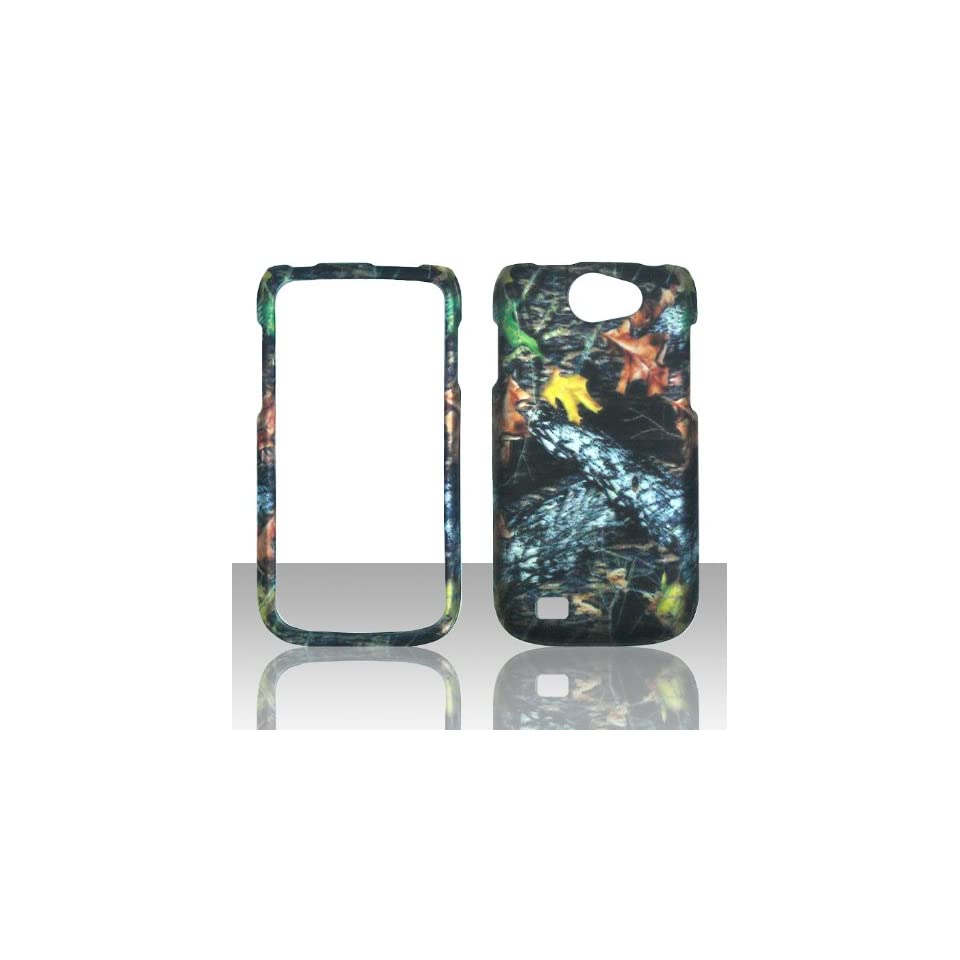 2D Camo Stem Samsung Exhibit II 2 4G T679 / Galaxy Exhibit 4G / Galaxy W (i8150) Wonder T Mobile Hard Case Snap on Rubberized Touch Case Cover Faceplates