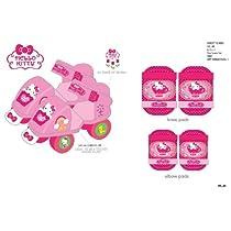 Hello Kitty Adjustable Toy Skate Combo