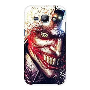Gorgeous Crazy Insanity Multicolor Back Case Cover for Galaxy J1