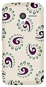 TrilMil Printed Designer Mobile Case Back Cover For Motorola Moto X (1st Gen)