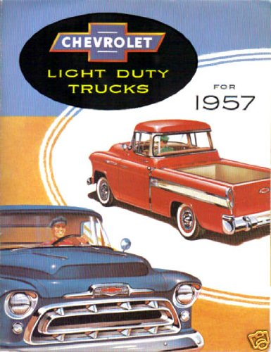 1957 CHEVROLET PICKUP & TRUCK DEALERSHIP SALES BROCHURE - CHEVY ADVERTISMENT LITERATURE 57 (Chevy Trucks For Sale compare prices)