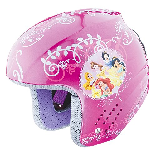 BRIKO Casco sci discesa junior ROOKIE DISNEY PRINCESS principesse rosa 100087 tg. 50