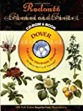 Redoute Flowers and Fruits CD-ROM and Book (Dover Full-Color Electronic Design)