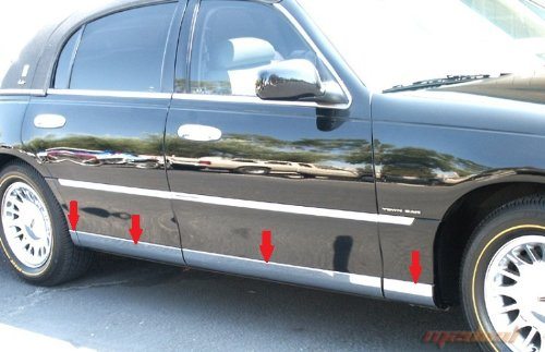made-in-usa-98-2011-lincoln-town-car-lower-rocker-panel-rocker-panel-chrome-stainless-steel-body-sid