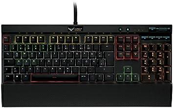 Corsair Gaming K70 RGB Cherry MX Braun, mechanisches Gaming Keyboard Schwarz (CH-9000065-DE)