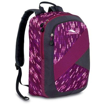 High Sierra Slash Backpack, Boysenberry Pattern, 17X13.5X7-Inch front-708471