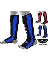 Authentique RDX néoprène Gel Shin Instep Pads MMA Leg Foot Guards Muay Thai Kick Protector