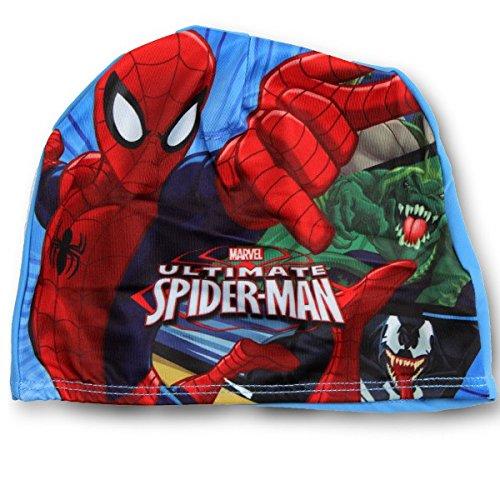 Spider-Man Cuffia Nuoto Mare Piscina Bambino in Tessuto Elasticcizato Prodotto Ufficiale 770-787