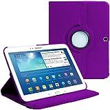 "Stuff4 Cover - Funda para tablet Samsung Galaxy Tab 3 10.1"" (***NO ADECUADO PARA GALAXY TAB 2 10.1 O GALAXY NOTE***), purpura"