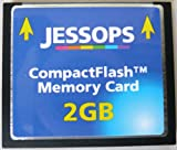 2GB JESSOPS BRANDED SANDISK CF COMPACT FLASH CARD RETAIL PACK