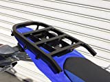 ライディングスポット(RIDING SPOT) リアキャリア スチール製 213×221mm ブラック WR250R(08-) WR250X(08-)