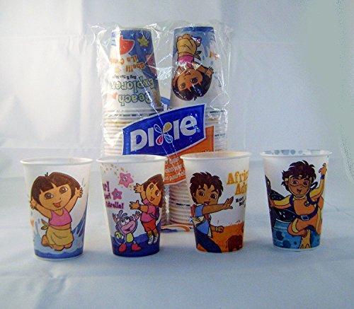 Dora and Go Diego Go Dixie 7 Oz Disposable Cups - 1