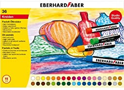 Eberhard Faber Efa Oil Pastel Card (box Of 36)